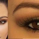 Kim Kardashian Glamorous Brown Gold