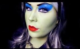 Halloween Makeup: Lily Munster