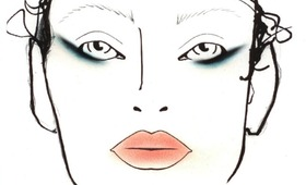 London Fashion Week, Fall 2011: MAC at David Koma
