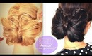 ★ HOW TO BUTTERFLY BRAID ON YOURSELF TUTORIAL | CUTE BUN HOLIDAY HAIRSTYLES FOR MEDIUM LONG HAIR | trenzas peinados