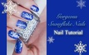 Gorgeous Snowflake Nails