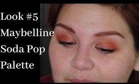 Look 5: Maybelline Soda Pop Palette - CopperToned
