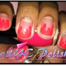 The Pink Dripping Nail