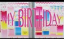 Birthday Plan with Me \\ Erin Condren Vertical
