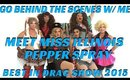 BEST IN DRAG SHOW 2015 MEET THE CONTESTANTS BEHIND THE SCENES | PEPPER SPRAY- mathias4makeup