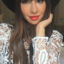 Makeup on Jackie Cruz OITNB WPA Season 3 Premiere Party