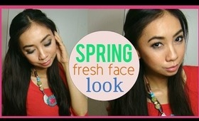 Spring Fresh Face Makeup look