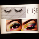 ELISE Lashes with Gold Amber tip