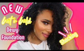 Wet N Wild Dewy Foundation | Review and Demo | leiydbeauty