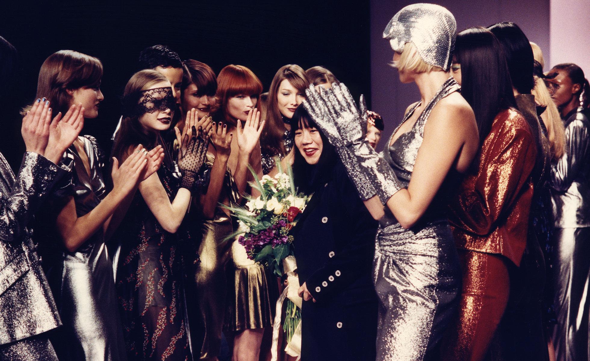Anna Sui Spring 1995 Fashion Show | Photo: Raoul Gatchalian