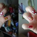 Random Christmas nails