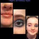Night smokey eye.:)