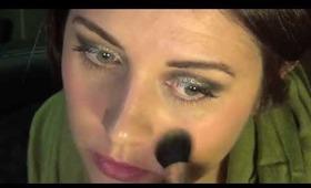 Metalic X Matte makeup contrast tutorial