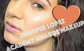 Tutorial || Jennifer Lopez's Academy Awards Makeup Look