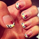 hello kitty manicure