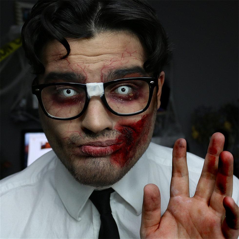 Macabre Makeup: Alex Faction\'s Creepiest Halloween Looks | Beautylish