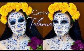 Catrina ESPECIAL de Talvera economico / Sugar Skull  Mexican Craft   auroramakeup