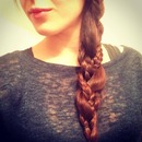 My braids in a braid :)