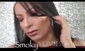 Smoky Valentines Day Makeup Tutorial | Date Night 2018