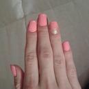 Kiss acylic kit + nail polish