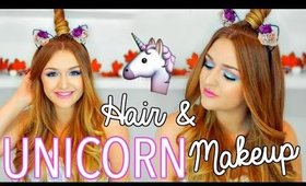 UNICORN MAKEUP & HAIRSTYLE | CarolaneCP