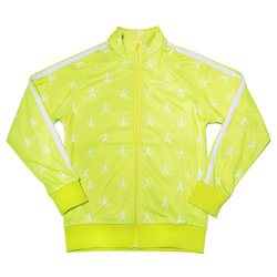Jeffree Star Cosmetics Chartreuse Track Jacket