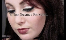 The Sexy Pin Up Girl - Dramatic Eye Makeup Tutorial With A Dark Twist - Snarky Princess