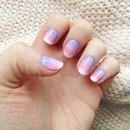 Pretty Pastel Gradient Nails