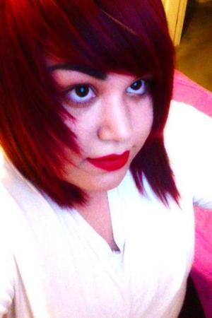 My new red hair<3