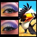 Rio inspired eye:)