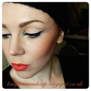 Tutorial for the eyes on my blog, link is in the picture