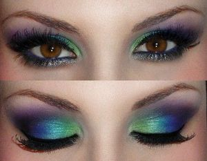 This is actually the look I attempted to go for but I actually liked my version:)