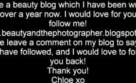 My Beauty Blog!