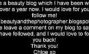 My Beauty Blog!