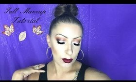 Fall Makeup Tutorial   Deep Dark Lips
