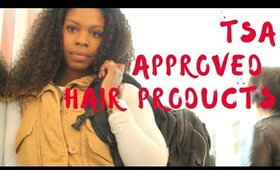 Curly Girl 4oz  Hair Bag Approved by TSA- Kinky Curly Yaki Review