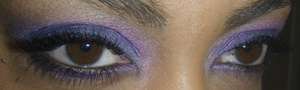 Purple, Pink, and Blue