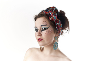 Model: Rachel Clare Photographer & Make-Up: Simone Kelly  © Simone Kelly, 2012 Moral Rights Asserted.
