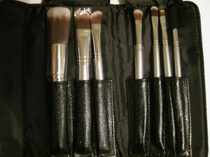Sephora Collection Anti-Bacterial Brush Set - Sparkle Edition