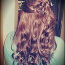 Curly Side Bun