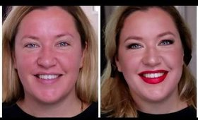 Hollywood Red lips Tutorial