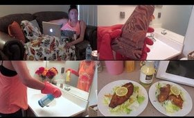 Motivation Monday Cleaning + Cook Dinner With Me | Day In The Life Of A Homemaker