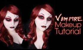 Vampire Halloween Makeup Tutorial - 31 Days of Halloween