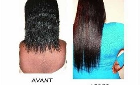 MON EVOLUTION CAPILLAIRE EN IMAGES - MY HAIR PROGRESS