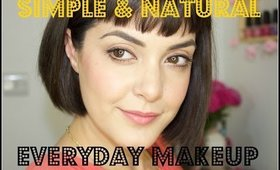 Simple & Natural Everyday Makeup