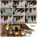 Maybelline Color Show Gold and Black Nail Polish Renewal