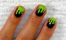 Green Slime Nails