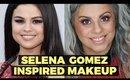 Selena Gomez Inspired Makeup | AMA's 2015