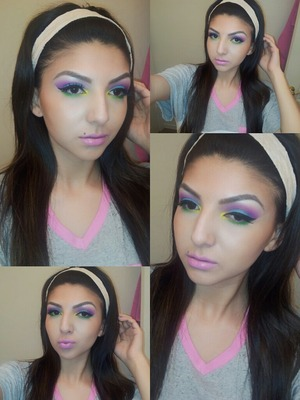 Spring look, tutorial will be up tomorrow be sure to subscribe ;)