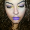Bright make up
